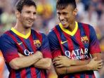 Messi Turut Prihatin atas Hukuman Neymar