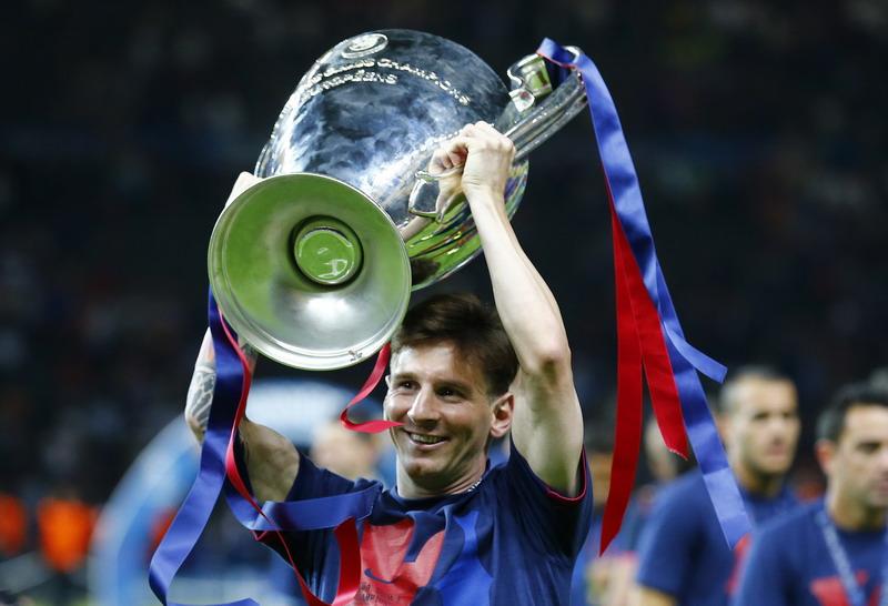 Messi turut memberi andil di kemenangan 3-1 Barcelona atas Juventus (Foto: Reuters)
