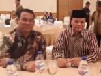 Iwan Perwira, Dosen STIM Lasharan Jaya Makassar berfoto dengan Wakil Ketua MPR RI Hidayat Nur Wahid