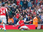 Arsenal Kubur Mimpi Setan Merah. Reuters
