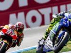 Marquez Gagalkan Perjuangan Rossi