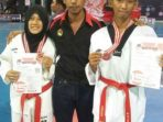 Dua Atlet Taekwondo Politani Raih Medali Perak di Kejurnas Poltek Cup
