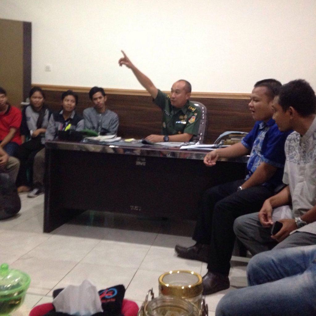 Kapedam VII Wirabuana Diserbu Mahasiswa Politik Unhas