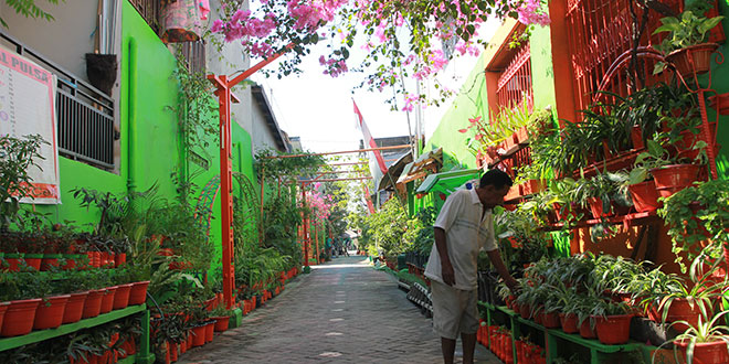 Lorong di Makassar jadi Destinasi Pariwisata Terbaru