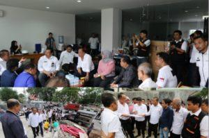 Foto ; Komisi A DPRD Makassar dan DTRB Tinjau RS.Bersalin Paranom