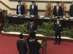 Rapat Paripurna PAW dan Pembahasan Dua RanperdaDPRD Makassar