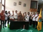 Irmayanti Lubis bersama tim saat diterima  Bupati Alor