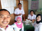 Irmayanti Lubis bersama timnya yang penempatan PKM Kayang