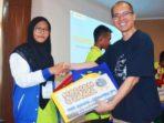 Juara I KRAN 2018, Navida Rahma Ramadhan asal MTSN 1 Pontianak, Kalimantan Barat