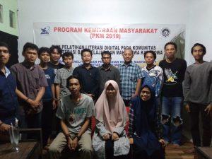 Dosen Sosiologi UNM Gelar PKM Pelatihan Literasi Digital