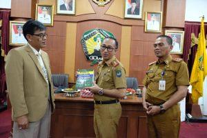 Sekkab Gowa Terima Kunjungan Benchmarking Prov Jawa Timur