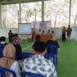 Relawan Aga Kareba Gelar Workshop Entrepreneurship di Desa Tamatto Bulukumba