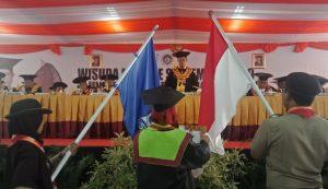 UNM Wisuda 1.000 Mahasiswa, Prof Husain : Alumni Jangan Berhenti Belajar