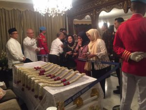 Bupati Luwu Utara Melayat ke Rumah Duka Almarhum BJ. Habibie* Jakarta --- Bupati Luwu