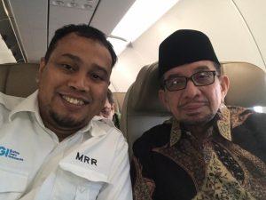 Terbang Bersama Ketua Majelis Syuro PKS, MRR : Tanda PKS Makin Dekat