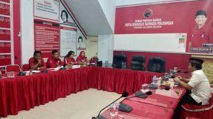 Wawancara di PDI Perjuangan, Andi Mustaman Siap Bertarung di Pilwalkot Makassar