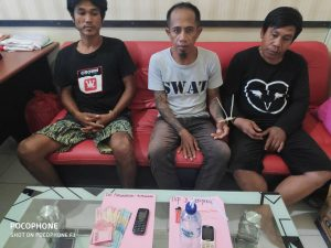 Polres Palopo Ciduk Tiga Orang Pengguna Narkoba Jenis Sabu