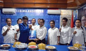 Kembalikan Formulir, Andi Mustaman Optimis Dapatkan Dukungan PAN di Pilkada Makassar