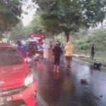 Lakalantas Mobil Truk Vs Pickup di Jalan Trans Sulawesi Papolo, Satu Orang Meninggal Dunia