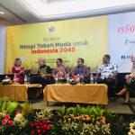 Sepanggung Ganjar Pranowo di Seminar PWI Pusat, Ini Mimpi IDP di 2045