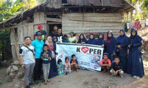 Komunitas Peduli Berbagi Santuni Janda tua Miskin di Bulukumba, Simak Kisah Pilu Mereka