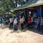 Gelar Bakti Sosial, Karang Taruna Desa Paraikatte Gowa Gandeng Polsek Bajeng