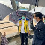 Presiden Jokowi Tinjau Sarana Terdampak Bencana Banjir di Kabupaten Banjar