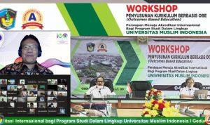 Wokshop OBE Usai, Persiapan UMI untuk Akreditasi Internasional Makin Mantap