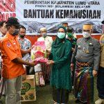 Pemda Lutra Kirim Bantuan untuk Korban Gempa di Sulbar