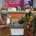 Bupati Luwu Utara, Wajib Pajak Pertama yang Laporkan SPT melalui e-Filing