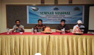 CCW, LESKAP Kerjasama Yayasan Hijau Lestari Gelar Seminar Dampak Pertambangan