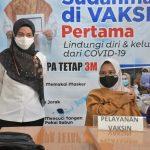 Pantau Pelaksanaan Vaksinasi Tahap Kedua, IDP : Setelah Ini Tetap Terapkan Protkes