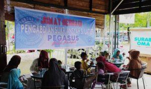 Jumat Berkah di UQI Centre, Ada Makan Bakso Gratis