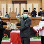 Bupati Luwu Serahkan LKPJ Tahun Anggaran 2020 ke DPRD