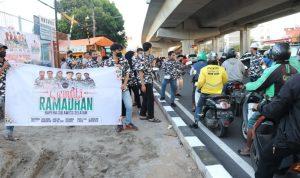 Massifkan Gerakan Sosial, BAPERA Bagikan 2800 Dos Makanan Takjil