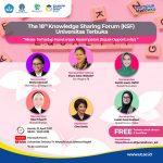 Bupati Lutra Bersama Iriana Joko Widodo Jadi Pembicara di KSF Universitas Terbuka
