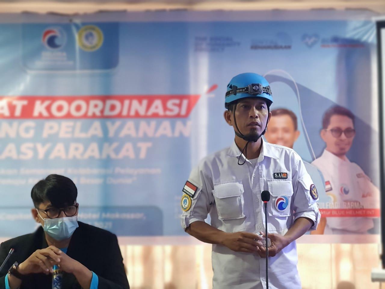 Ketua Umum Blue Helmet, Sulfiadi Barmawi: Tim Kami Sudah Tiba di NTT
