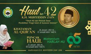 AG KH Muhyiddin Zain, Tokoh Pendidikan Tinggi Islam Sulsel