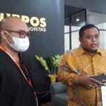 Direktur Bisnis Lending Gun Gun Gunadi, didampingi Kepala Kantor Wilayah Kopnuspos 10 Sulawesi-Maluku, Subhan Nur