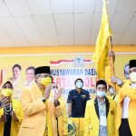 Terpilih Ketua Golkar Pinrang, Usman Marham: Ailangga Presidenku, Taufan Pawe Gubernurku