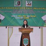 Hadiri Musda III KAHMI Lutra, Indah Komitmen Bangun Pemerintahan yang Kolaboratif