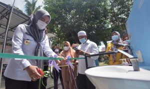 Warga Desa Toradda Masamba Kini Sudah Nikmati Air Bersih